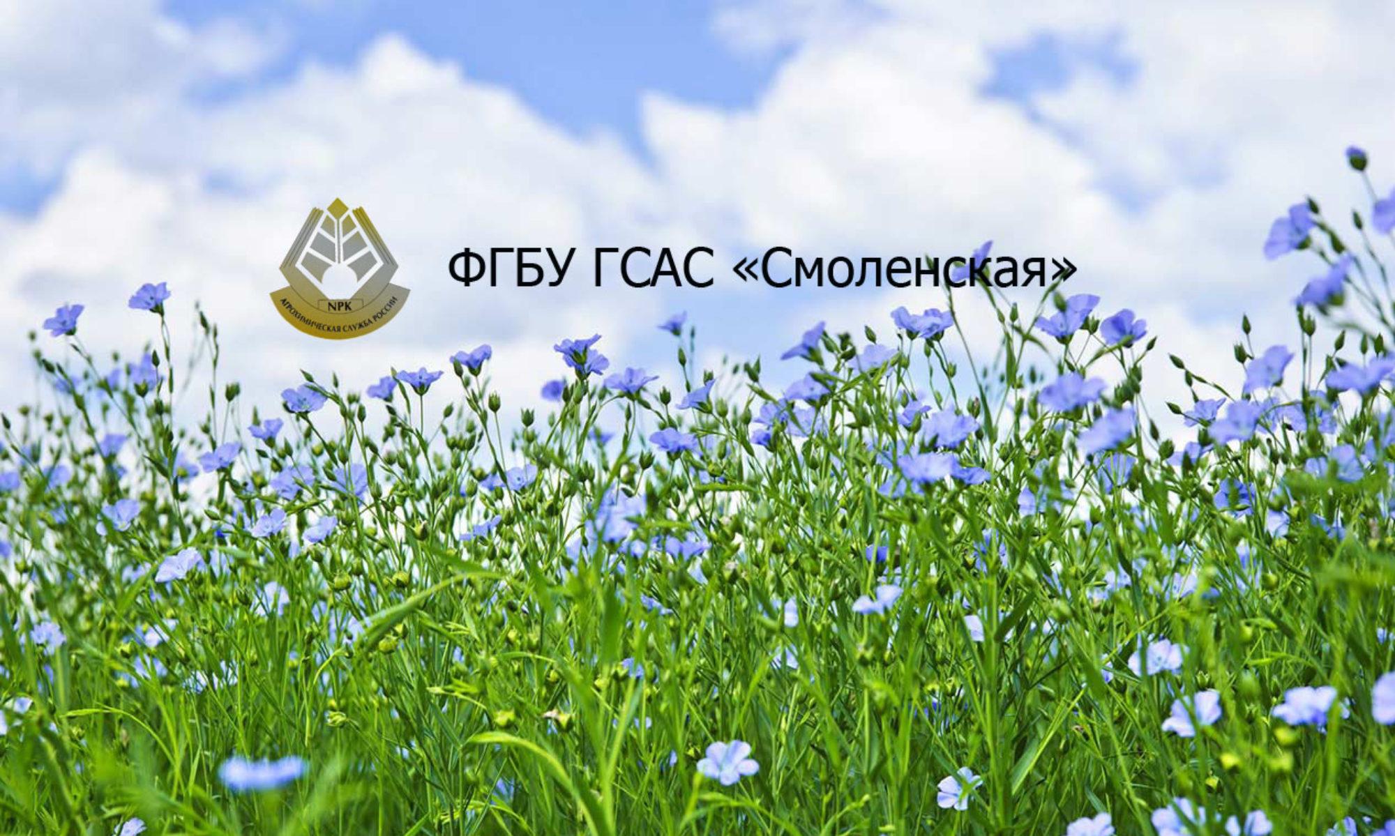 Федеральное государственное бюджетное учреждение государственная станция агрохимической службы «Смоленская»